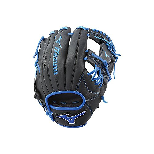Mizuno MVP Prime SE GMVP1154PSE6 Infield Model Gloves, Black/Royal