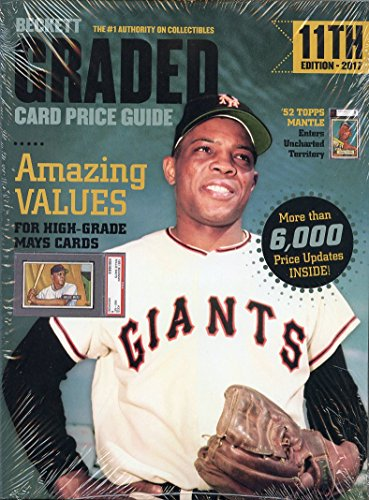 annual-beckett-graded-card-price-guide-book-11th-edition-2017-willie-mays