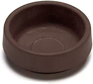 Castor Cups Furniture Floor Protector Glides Rubber Non Slip 44Mm Pack 4