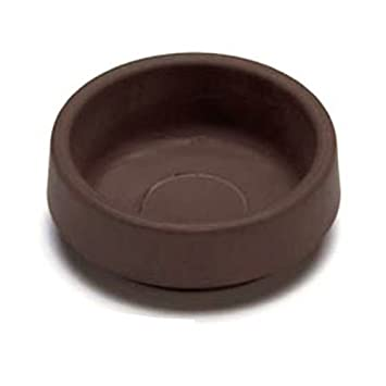 CASTOR CUPS FURNITURE FLOOR PROTECTOR GLIDES RUBBER NON SLIP 60MM ( Pack Of  4 )