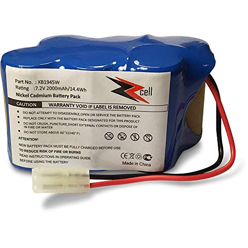 ZZcell Battery for Shark Euro Pro Vacuum Cordless Sweeper Model XB1945W, XB1946W, XB1946, V1945Z, ()