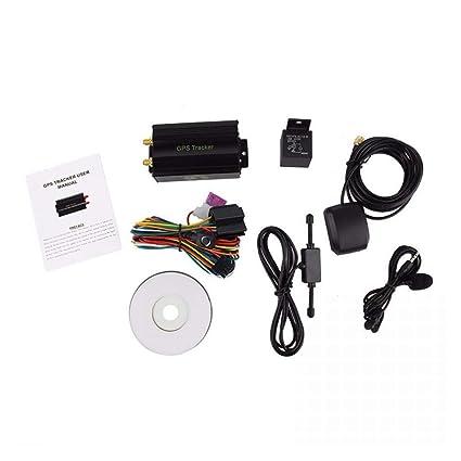 Amazon.com: Mini GPS Tracker Car Motorcycle Vehicle Tracking ...