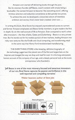 the everything store jeff bezos and the age of amazon brad stone 9780593070468 amazoncom books