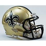 Riddell Mini Football Helmet - NFL Speed New Orleans Saints