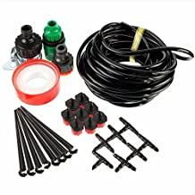 Doitb 8m Hose Micro Drip Irrigation Sprinkler System Kit Garden Greenhouse Landscaping Plant Tubing Watering Drip Kit Accessories