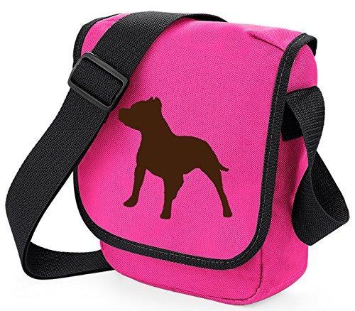 Reportero Bolsa Staffie Colores Color Mini De Perro Rosa Terrier Bull Regalo Staffy De En Staffordshire Bandolera Marrón Los Elección xEwnqCXAO