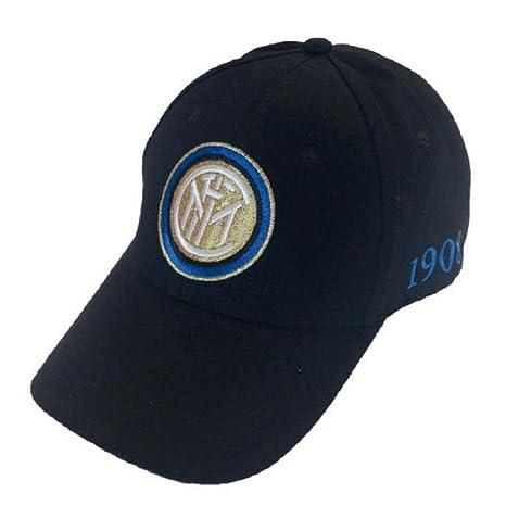 F.C.Internazionale Cappello Inter Cappellino Ufficiale Berretto INTNERO01 9f016fca0665