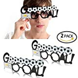 QTKJ 2018 World Cup Sunglasses Funny Party Supply Glasses Eyewear for Soccer Football Party