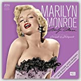 Marilyn Monroe 2016 Square 12x12 Faces (ST-Silver Sparkle Foil) (Multilingual Edition)
