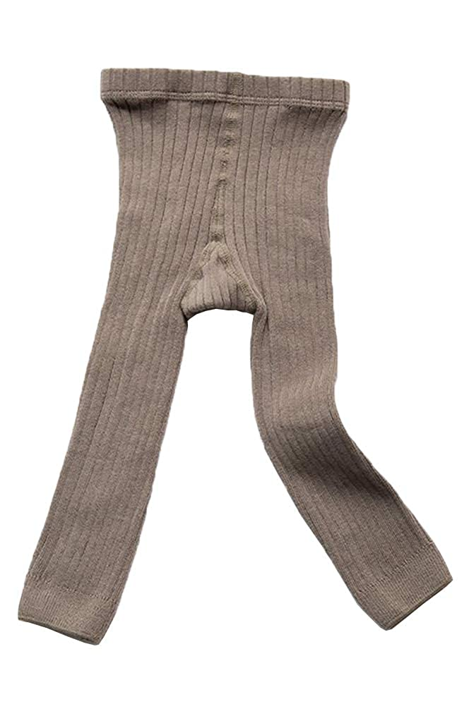 EachEver Toddler Baby Girls Basic Ribbed Leggings Footless Knitted Tights Dress Bottom Pants lmm89023123