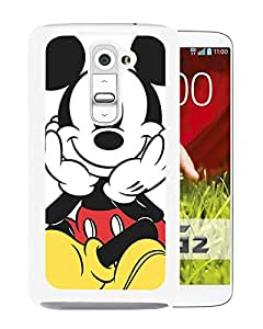 Mickey Mouse 8 White LG G2 Case Sale Online