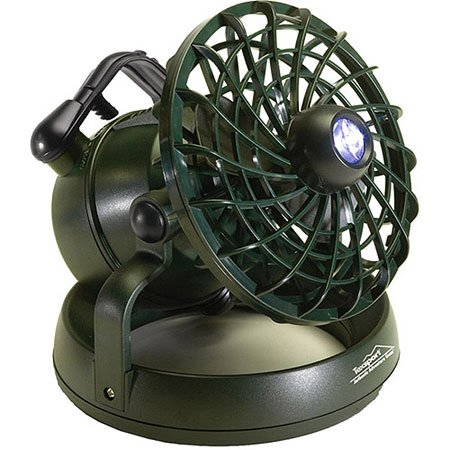 Texsport Deluxe Portable Camping Combo LED Light Lantern and Fan