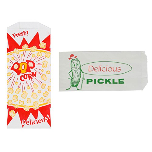Pickle and Popcorn Bags - 25 Each
