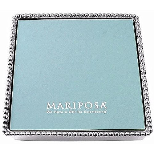 Mariposa Beaded Luncheon Napkin Box product image