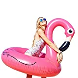 Fly PVC Inflatable Increase Swim Ring Adult Flamingo Water Floating Bed Children Unicorn Mount Inflatable Floating Row