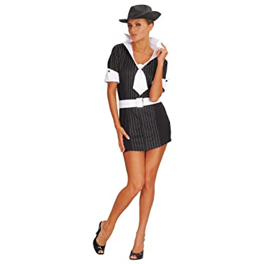 M Ladies Gangster Moll Costume for 20s 30s Fancy Dress  sc 1 st  Amazon UK & M Ladies Gangster Moll Costume for 20s 30s Fancy Dress: Amazon.co.uk ...
