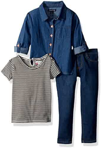 Limited Too Girls' Fashion Knit Top and Pant Set (More Styles Available)