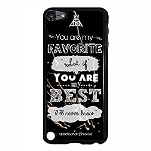 Stylish Wallpaper Fall Out Boy Phone Case Cover For Ipod Touch 5th Generation FOB Luxury Pattern