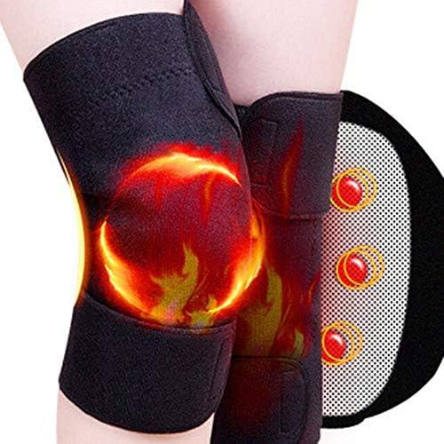 9BA7 Self-heating Kneepad Magnetic Knee Support Tourmaline Brace Wrap Pain