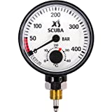 XS Scuba Pressure Gauge Only, Metric
