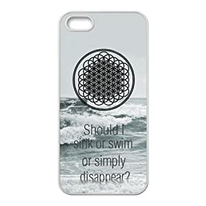 Bring Me The Horizon Design Case for iPhone 5s,Cover for iPhone 5s,Case for iPhone 5,Hard Case Protector for iPhone 5/5s