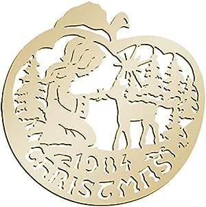 Amazon.com: Biedermann & Sons D1984 Brass Commemorative ...