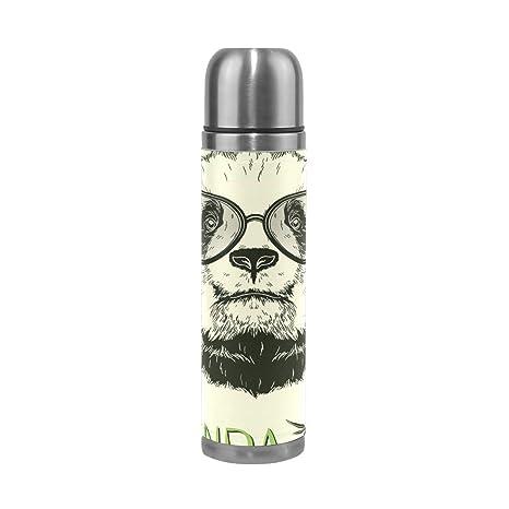 Amazon.com: Saobao – Botella de agua con diseño de oso panda ...