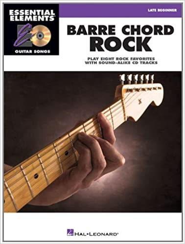 Amazon.com: Barre Chord Rock: Essential Elements Guitar Songs Later ...
