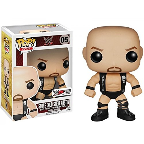 Funko Pop WWE Stone Cold Steve Austin 2K 3:16 Exclusive Viny