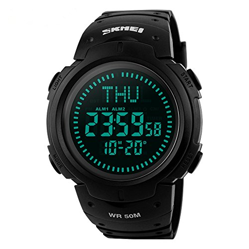 Function Waterproof Electronic Calendar Watches
