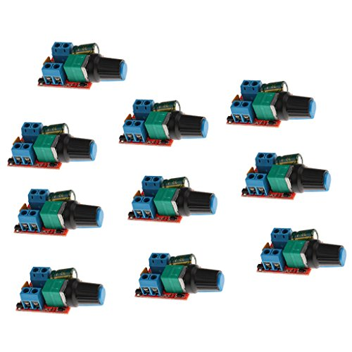 Baoblaze 10pcs High Speed PWM LED Dimmer Control 3V - 35V 5A 90W Switching DIY LED by Baoblaze