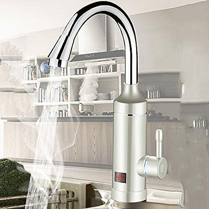 Grifo Eléctrico, Calefacción Caliente e Instantánea, Cocina, Agua Rápida, Calentador de Agua