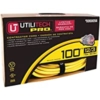 Utilitech Pro 100-ft 15-Amp 125-Volt 1-Outlet 12-Gauge Outdoor Extension Cord