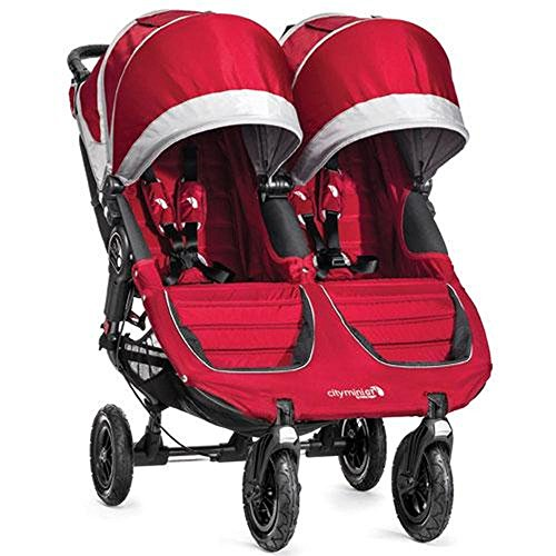 Baby Jogger 2014 City Mini GT Double Stroller, Crimson/Gray by Baby Jogger