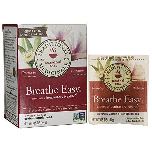 Tradional Medicinals Breathe Easy Tea, 16 Count