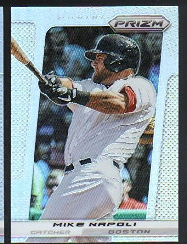 2013 Panini Prizm Baseball Prizms Refractor  158 Mike Napoli Boston Red Sox