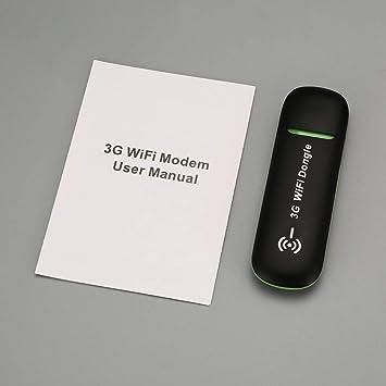 Sanzhileg 3G WiFi móvil Hotspot Coche Módem USB Universal ...