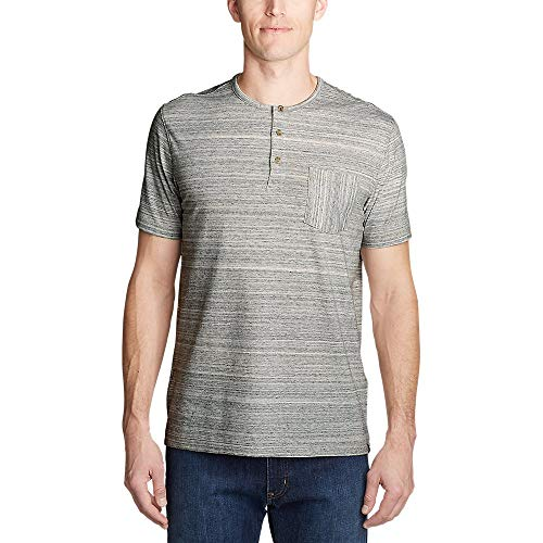Eddie Bauer Men's Legend Wash Pro Short-Sleeve Henley