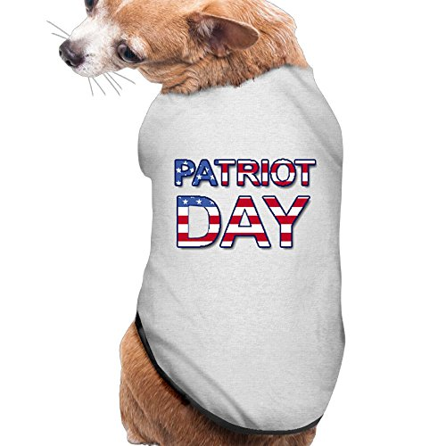 [Dog Clothes Patriot Day Pet Clothing Jackets Soft And Warm 100% Polyester Fiber Dog Jackets Dog] (Welcome To The Black Parade Costume)