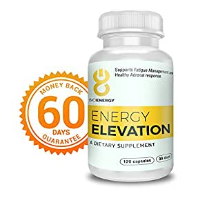 Chronic Fatigue Syndrome Low Energy Supplement - Deeper & Restorative Feeling of Sleep. Wake up Refreshed with More Energy & Have a Productive Day. by 8bioenergy - 60 Days Feel Better Guarantee