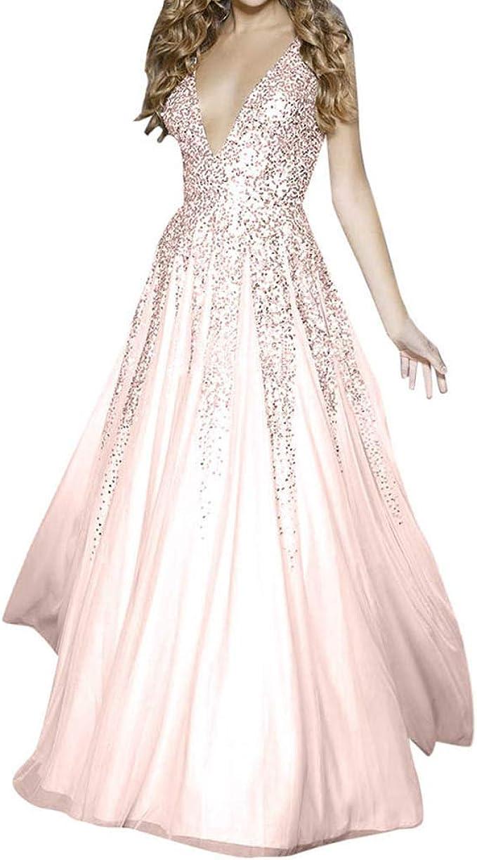 Rockabilly Kleider Damen Lang mit ärmel, 12er Vintage Kleid