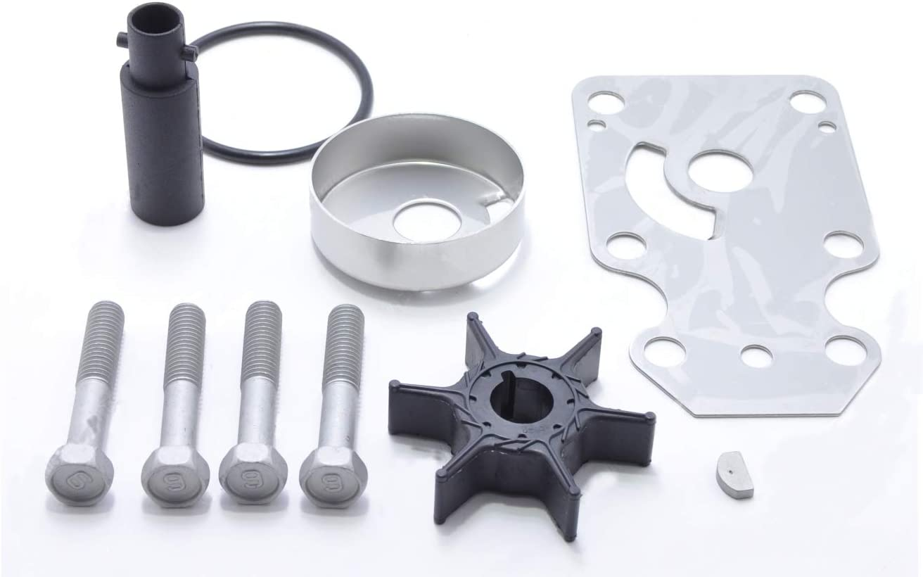 Full Power Plus Replacement For Yamaha 8HP 9.9HP Outboard Motor Parts T8 T9.9 69G-W0078-00 Impeller Kit