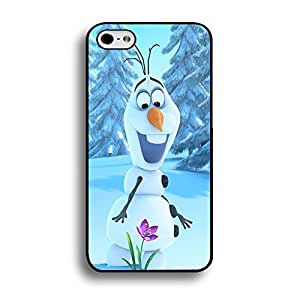 Unique Design(TM) Iphone 6 (4.7 Inch) Case Cover Galaxy Disney Cartoon Anime Comics Character Frozen Hard Tpu Slim Fit Rubber Custom Black Protective Accessories for Girls