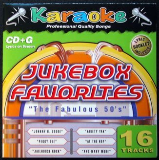 KARAOKE BAY Jukebox Favorites - The Fabulous 50's - Karaoke 50s