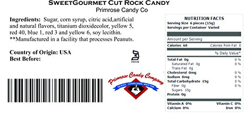 Review SweetGourmet Holiday Cut Rock
