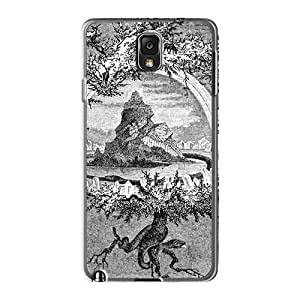 Best Hard Phone Case For Samsung Galaxy Note3 With Provide Private Custom Beautiful Einherjer Band Image LauraAdamicska