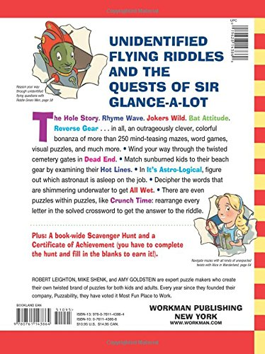 The Brainiest Insaniest Ultimate Puzzle Book!: Amy Goldstein ...