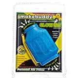 Smoke Buddy Glow in the Dark Blue - Personal Air Purifiery and Odor Diffuser by smokebuddy