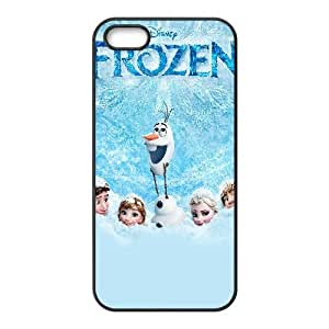 Frozen Cartoon iPhone 4 4s Cell Phone Case Black Gift pjz003_3337954