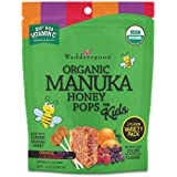 Wedderspoon Organic Manuka Honey Pops for Kids, Variety Pack, 24 count, 4.15 Ounce